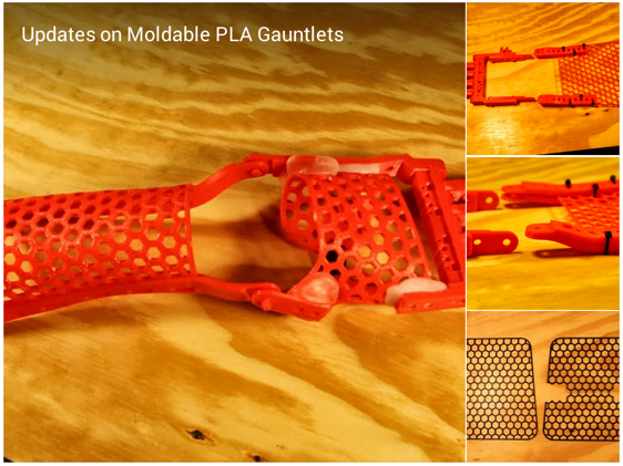 Andreas Bastian Google I shared some of my recent experiments with moldable PLA