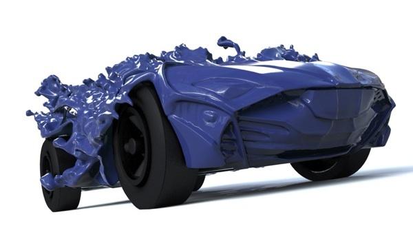 Liquid Pinewood Derby Car 2