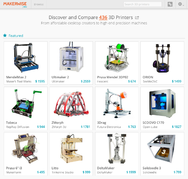 Makerwise 3D Printer Guide