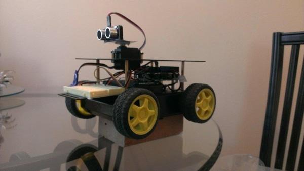 Rich O J Robot Rover