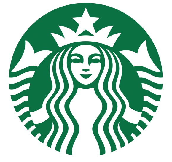 Starbucks logo colouring pages