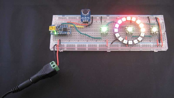 Simple Led Light Based Music Using Lm318 Electronic Projects