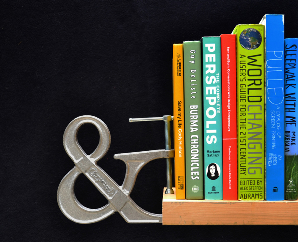 Clampersand_Bookend