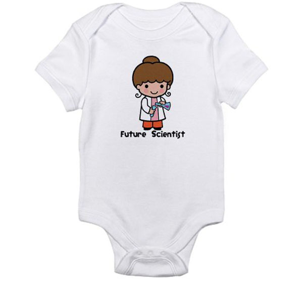 Future Scientist Onesie