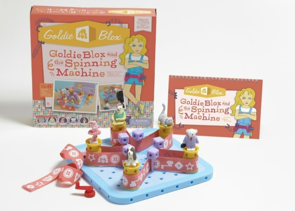 GoldieBloxAndTheSpinningMachine 2
