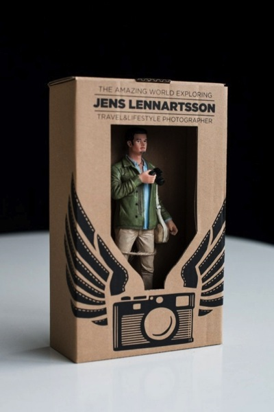 Self promoter creates own action figure to replace traditional jenslennartsson 2 colourmoves