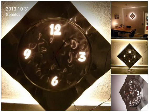 Michael Leon Schönholzer Google Finished my clock It is metal spun test scrap part from