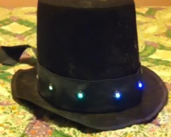 Neopixel hatband