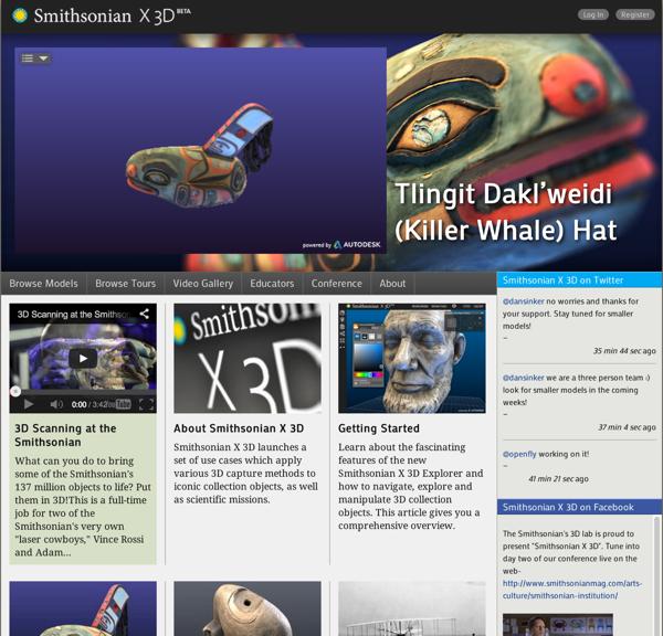 Smithsonian X 3D 2