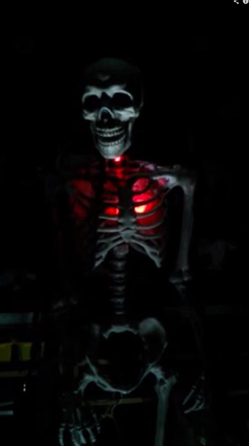 Tom Georgoulias Google I made this Halloween skeleton prop using an Arduino a 2