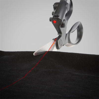 A823 laser guided scissors