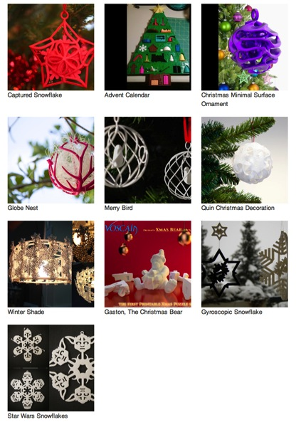 10 3D Printed Christmas decorations to brighten your home Personalize 3D Printing News 3D Printer reviews Additive Manufacturing Interviews