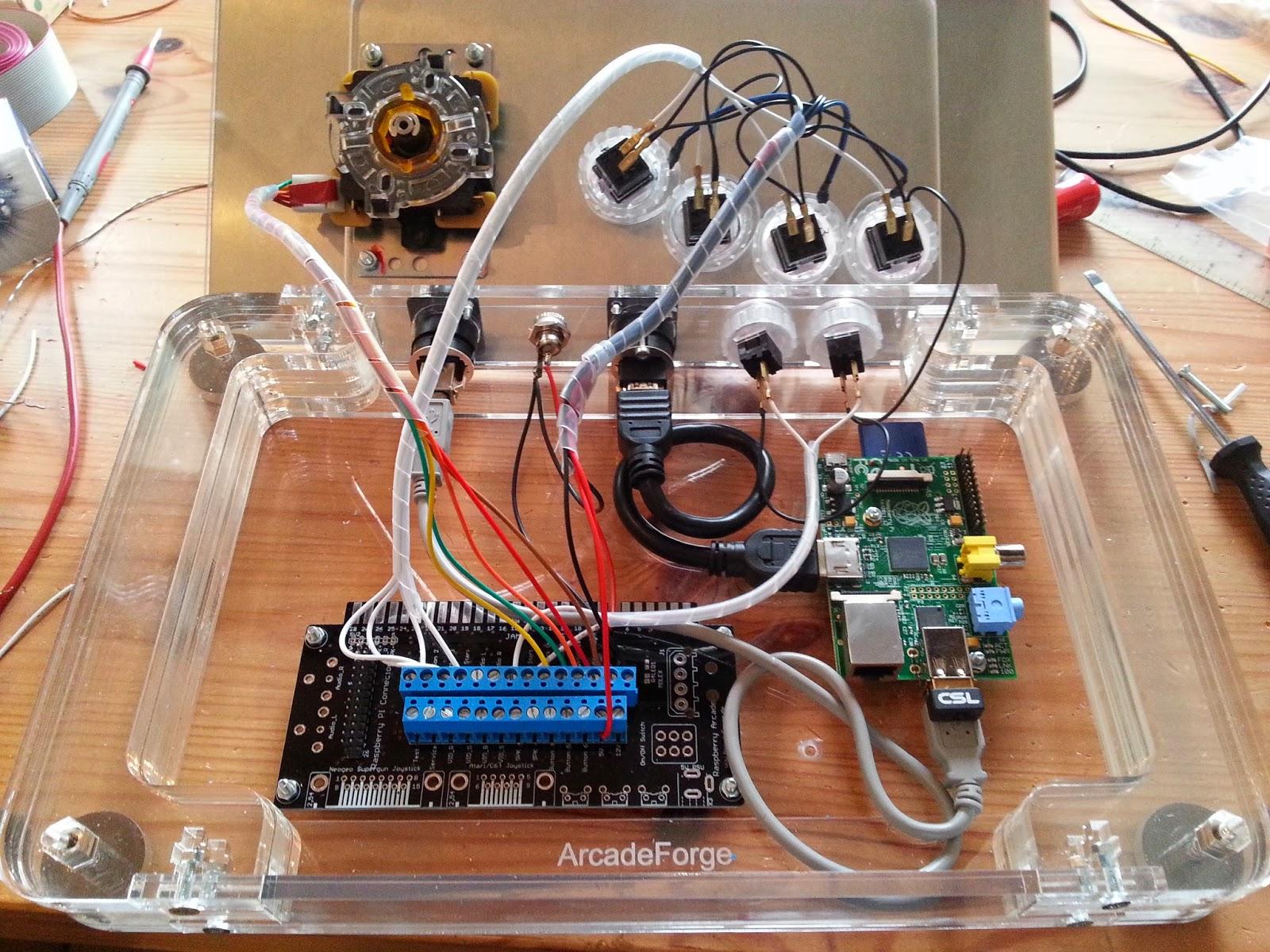 Raspberry Pi Dtv Arcade Stick Raspberry Pi Piday
