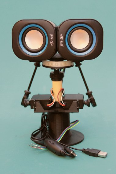 Overview | 3D Printed Animatronic Robot Head | Adafruit Learning System