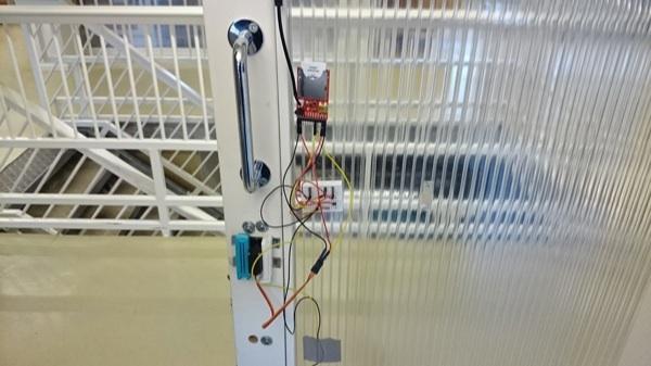 Electric Imp Door Lock 2