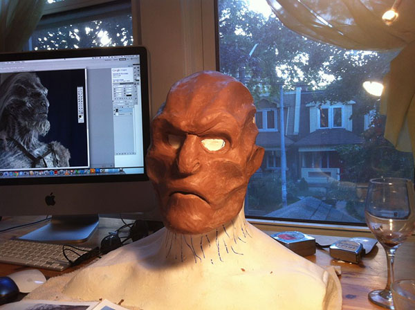 white walker costume in progress