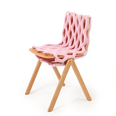 Clothing designed for chairs by Bernotat and Co dezeen 14