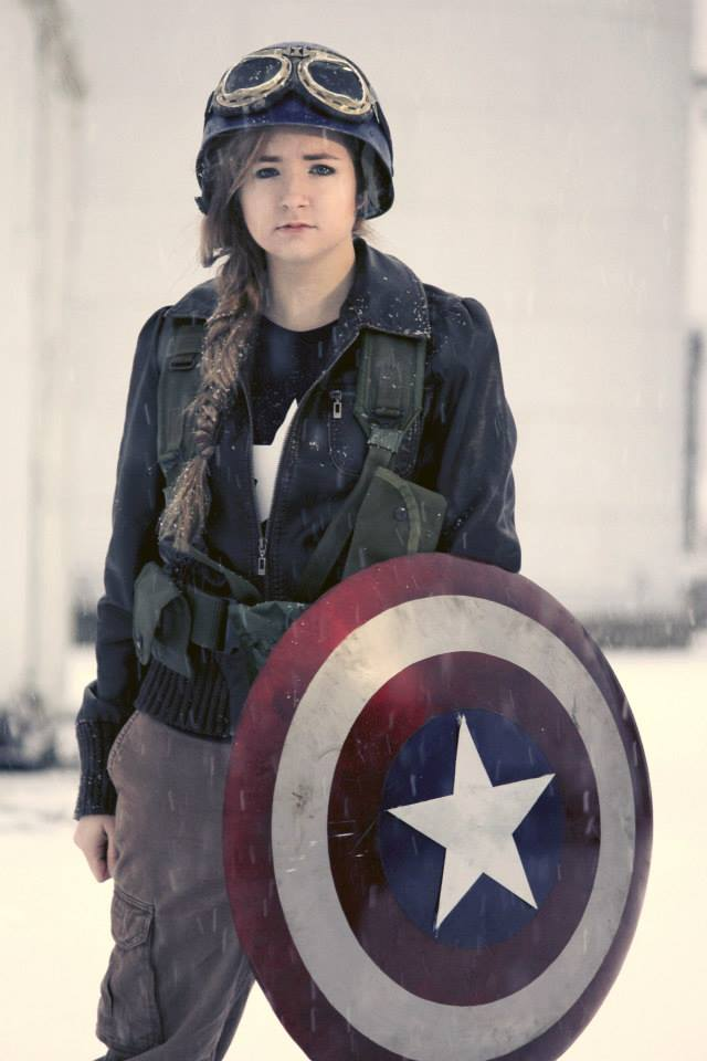 Femme Captain America