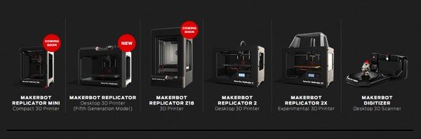MakerBot 3D Printers 3D Printing