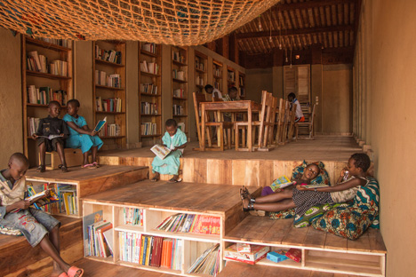The Library of Muyinga by BC architects dezeen 8
