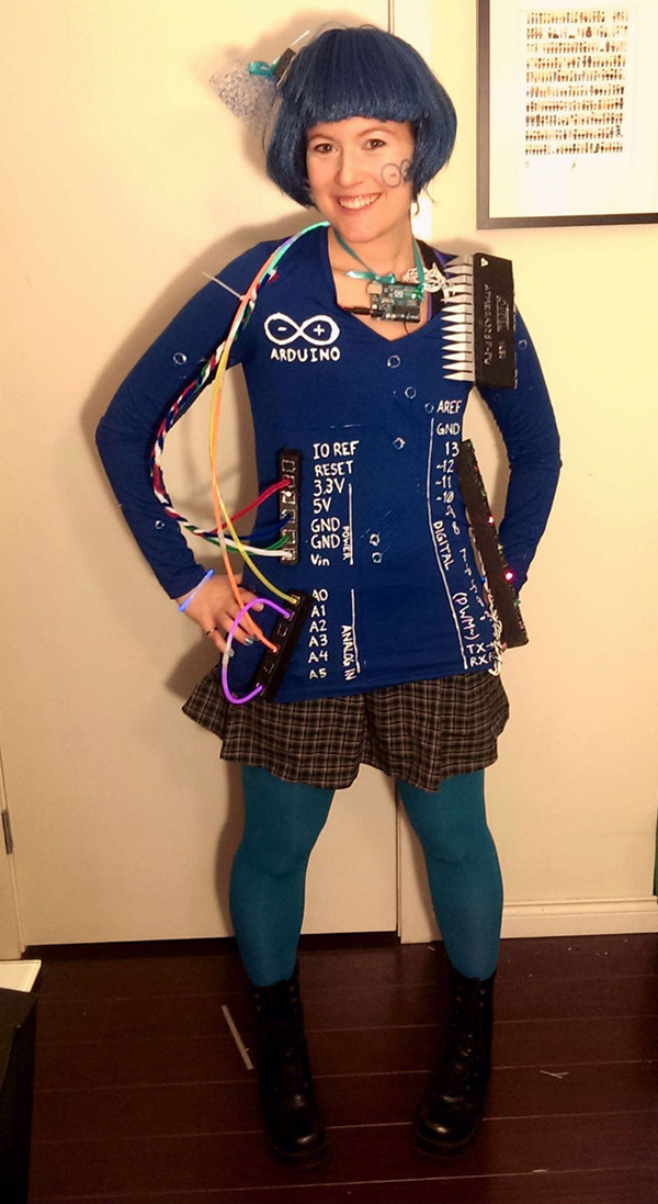 arduino board costume