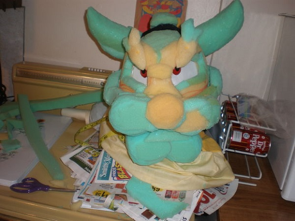 bowser head in progress