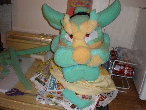 bowser head in progress