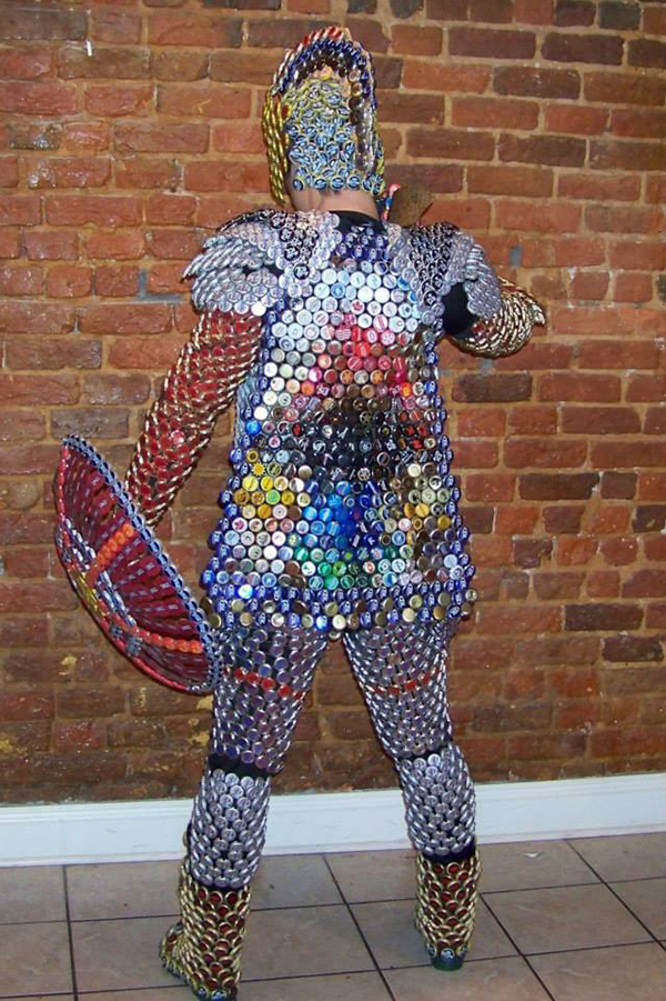 How To Make A Suit Of Armor From Bottle Caps 171 Adafruit
