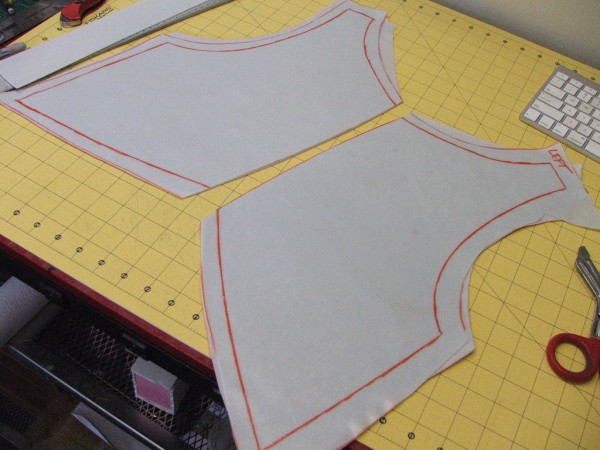 costume armor in progress
