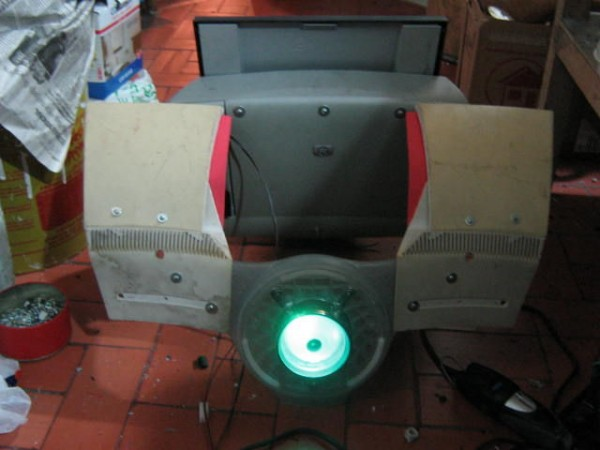 cyborg costume chest plate