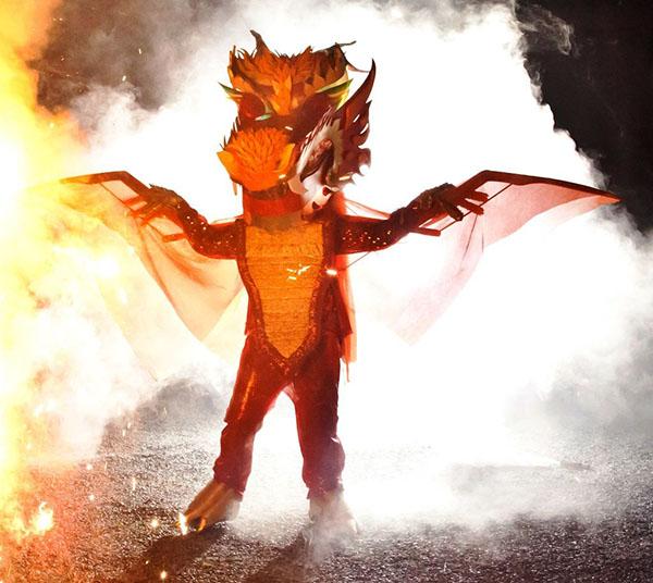 Smoking dragon costume is ferocious 171 adafruit industries makers