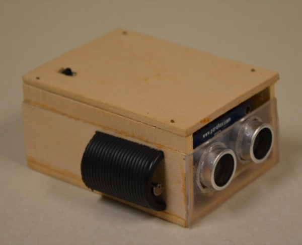 An ultrasonic eye for the visually impaired
