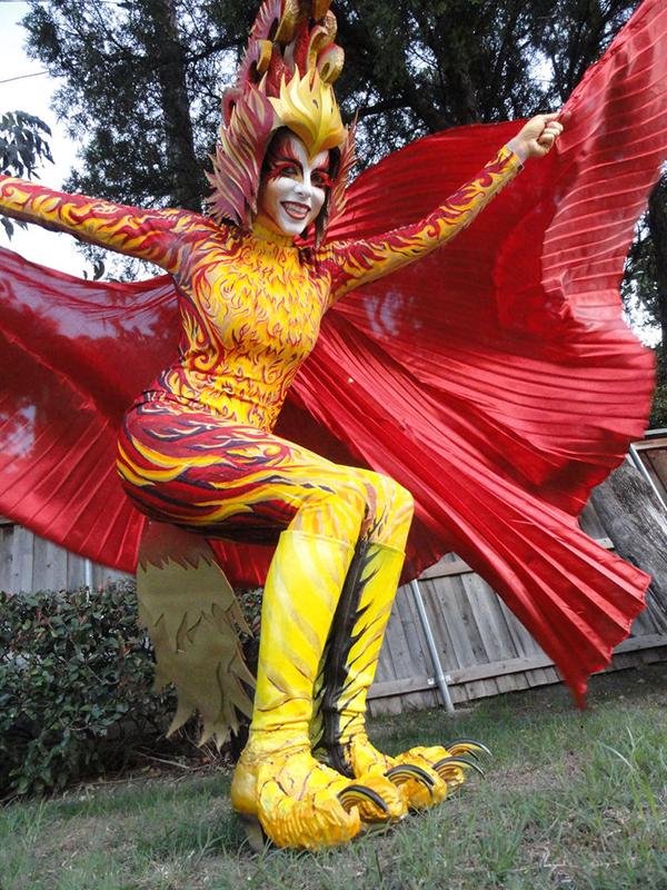Fiery Phoenix Costume 171 Adafruit Industries Makers