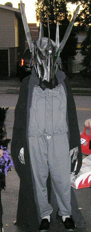 sauron pjs costume