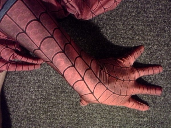 spidey fabric