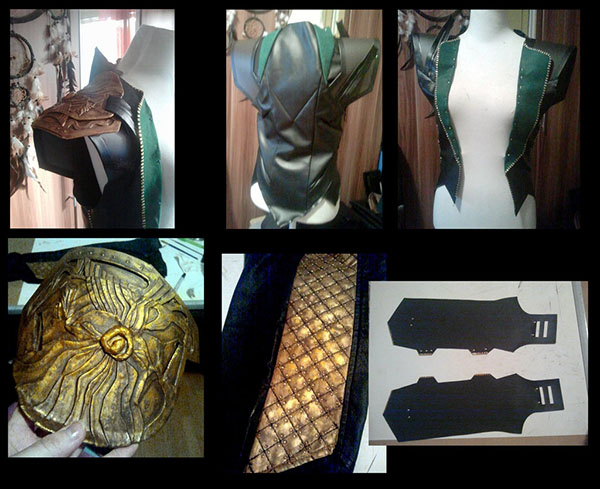 Loki cosplay in progress