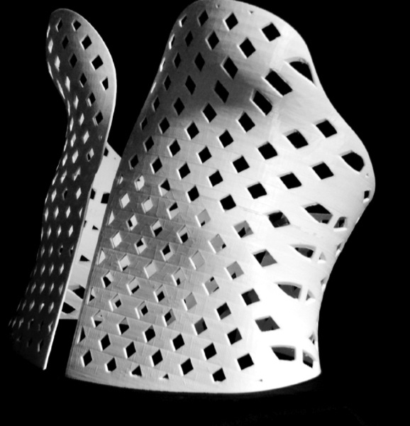 MUSE 3D printed corset from a 3D Scan by Samuel N Bernier by LeFabShop Thingiverse 2