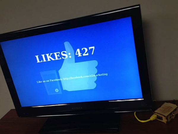 "Build a Raspberry Pi ""Like"" Tracker Kiosk @Raspberry_Pi"