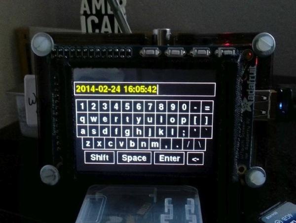 Virtual keyboard raspberry pi