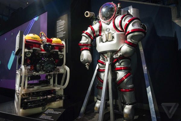 The 530 pound Exosuit is a submarine you can wear The Verge