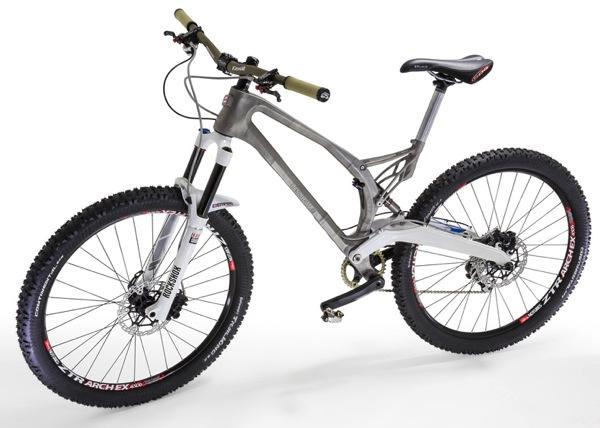 Worlds first 3D printed lightweight titanium bike by Renishaw for Empire Cycles dezeen ss 2 1