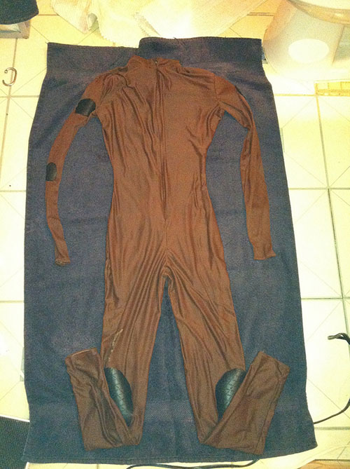 dune costume in progress