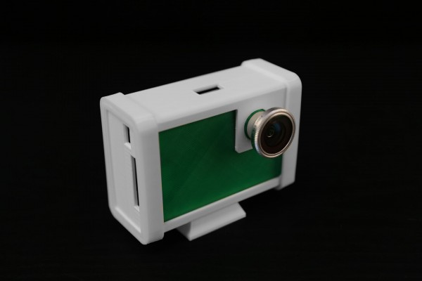 3D Printed Raspberry Pi Touchscreen Camera Enclosure