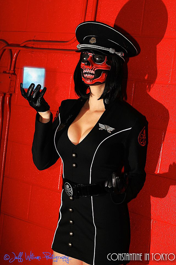 lady red skull