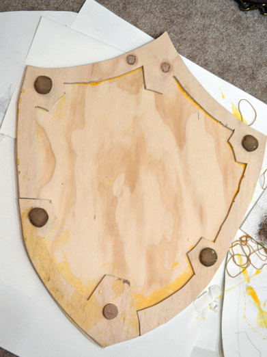 link shield in progress