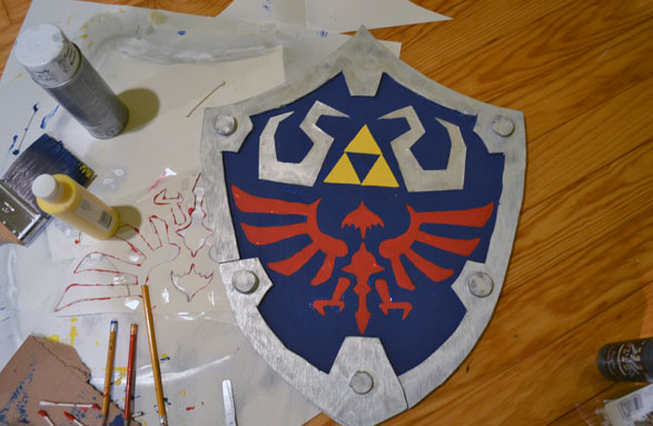 Make Your Own Hylian Shield 171 Adafruit Industries Makers