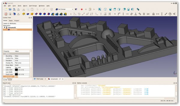 3d Design Software Freecad Parametric 3d Cad Modeler