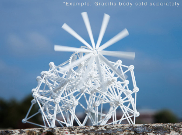 Propeller for Animaris Geneticus Gracilis 3d printed Sculptures Desk Toys