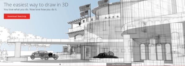 SketchUp building demo