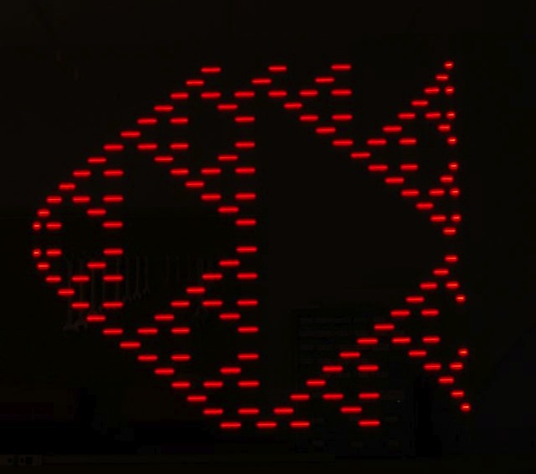 Conways game of life light painting1